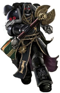 Black Shield Chaplain Vigilance of the Death Watch