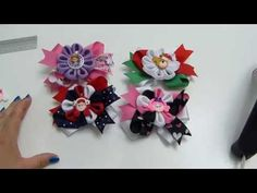 Flor liston facil y elegantes para lazos,video 533,Easy Make Magic Flower Ribbons, DIY, Tutorial - YouTube