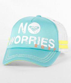 Roxy Dig This Trucker Hat Scarf Hat 12b2b9d430da