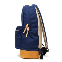 Buddy Fang Backpack Navy | buddy make happy made in Japan