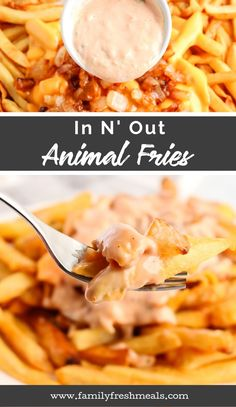 Animal Fries are my absolute favorite. Turns out, it's actually quite easy to whip up your own Copycat In N Out Animal Fries at home. Sweet Potato Gnocchi, Family Fresh Meals, Meat Appetizers, Pub, Cheese Fries, Restaurant Recipes, Copycat Recipes, Food To Make, Cooking Recipes