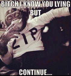 When I catch someone in a lie :)