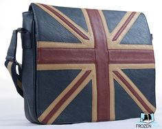Amazon.com: Vintage Union Jack Messenger Bag | Faux Leather | High Quality Bag | London Fashion: Shoes