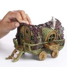 Miniature Houses, Miniature Fairy Gardens, Miniature Dolls, Mini Fairy Garden, Fairy Garden Houses, Fairy Garden Supplies, Gardening Supplies, Clay Fairy House, Fairy Village
