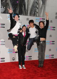 """Marianas Trench. I guess Mike and Ian missed the """"rock jump"""" memo."""