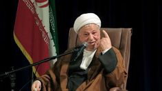 Chairman of Iran's Expediency Council Akbar Hashemi Rafsanjani