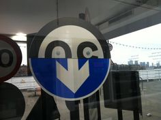 50 Years of British Road Signs - London's road signs reinterpreted at the Design Museum - Half N Half face