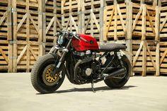 ϟ Hell Kustom ϟ: Honda CB750 By Desideratum