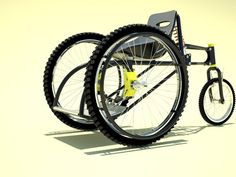 All Mountain Wheelchair by Francisco Lupin. >>> See it. Believe it. Do it. Watch thousands of SCI videos at SPINALpedia.com