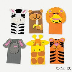 Check - Zoo Animal Paper Bag Puppet Craft Kit from oriental trading- each makes 12 Zoo Crafts, Preschool Christmas Crafts, Puppet Crafts, Fish Crafts, Paper Plate Art, Paper Plates, Paper Bag Crafts, Paper Bags, Paper Bag Puppets