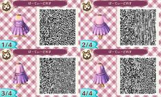 Fantastic Animal Crossing NL Designers (Clothing Edition)-Not my Design