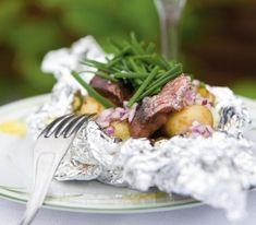 Matjes i foliepaket | Recept.se