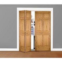 Marvelous Oak Bifold Closet Doors By HomeStory Doors