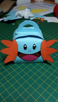 This Is My Prototype Mudkip, I Smudged One Of His Eyes Unfortunately, But I