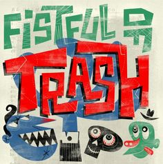 Fistful of Trash: 5 Years Of Squoodge Records