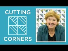 Make a Cutting Corners Quilt with Jenny Doan of Missouri Star! (Video Tutorial) by Missouri Star Quilt Company Jenny Doan Tutorials, Msqc Tutorials, Quilting Tutorials, Quilting Tips, Quilting Projects, Sewing Projects, Diy Quilt, Missouri Quilt Tutorials, Jellyroll Quilts