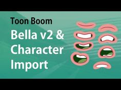 Toon Boom Animation- Bella build v2 and Importing Character - YouTube