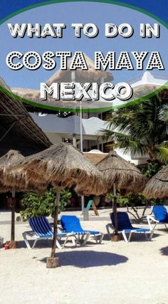 Costa Maya Mexico on a cruise? Here's what to do in Costa Maya for a lot less than a ship shore excursion. Best Cruise, Cruise Tips, Cruise Travel, Cruise Vacation, Family Cruise, Cruise Port, Mexico Vacation, Mexico Travel, Vacation Ideas