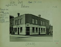 Old Oak 180 North End Road (front of scan) London History, Fulham, Vintage Pictures, Childhood Memories, The Past, Louvre, Old Things, England, City