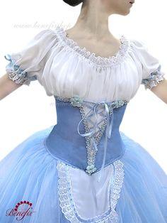 Peasant Costume - Pas de Deux - Act 1 - P0506A | Dancewear by Patricia