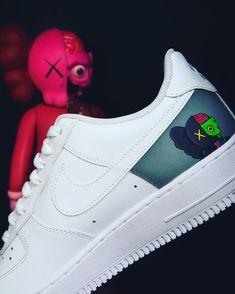 Behind The Scenes By dejesuscustomfootwear Custom Painted Shoes, Custom Shoes, Custom Clothes, Custom Jordans, Custom Sneakers, Nike Air Shoes, Sneakers Nike, Dbz Clothing, Lit Shoes