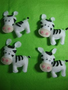 Zebra Feltro