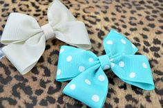 Pink So Foxy: How to Make A Hair Bow. I'm doing these for volleyball