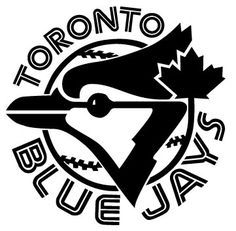 MLB Toronto Blue Jays Primary Logo - A Blue Jay head with a maple leaf on a baseball surrounded by team name. Best Logos Ever, Toronto Blue Jays Logo, Sports Team Logos, Sports Teams, Nhl Logos, Sports Art, Mlb Teams, Baseball Teams, Pro Baseball