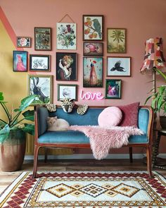 Thank you for sharing these beautiful wall decor including my work! - Thank you for sharing these beautiful wall decor including my work! 👍❤… Thank you for sharing these beautiful wall decor including my work! Eclectic Living Room, Boho Living Room, Eclectic Decor, Living Room Decor, Eclectic Gallery Wall, Living Room Vintage, Modern Decor, Retro Living Rooms, Eclectic Style