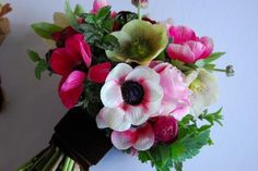Anemone bouquet how to