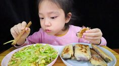 CHINESE FOOD * Fried Eggs with Garlic Bolt & Red Bean Rolls * MUKBANG EA... Fried Eggs, Red Beans, Asmr, Chinese Food, Garlic, Rolls, Make It Yourself, Ethnic Recipes, Autonomous Sensory Meridian Response