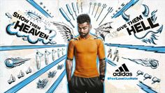 Advertising Campaign : Adeevee - Adidas: Feel the love. Use the hate. Advertising Campaign Inspiration Adeevee – Adidas: Feel the love. Use the hate. Advertisement Description Adeevee – Adidas: Feel the love. Use the hate. Sharing is caring ! Shoe Advertising, Creative Advertising, Advertising Campaign, Ad Of The World, Shoes Ads, Sports Marketing, Blue Poster, Commercial Ads, Blue Adidas