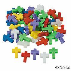 Cross-Shaped Beads - 25mm