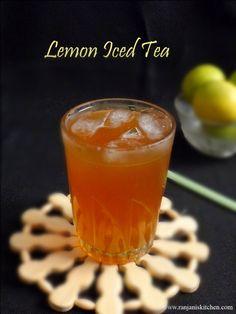 Iced Lemon Tea | Easy Home Made Iced Tea