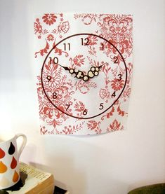 diy paper clock: so nice!
