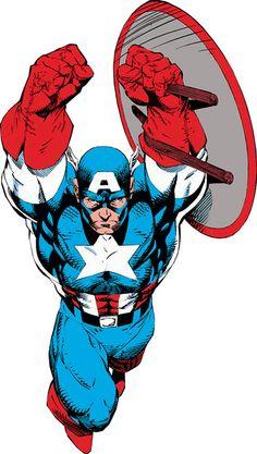 Captain America - Marvel Comics - Avengers - Invaders - Rogers