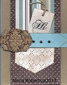 www.quwikcards.blogspot.com Stampin up card stock and Lacey Labels cartridge.