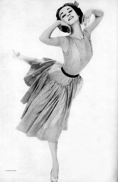 Audrey Hepburn loved to dance.  She originally wanted to be a prima ballerina, but her dream fell short when she realized that she was too tall for males in that era in dancing, and that since she had been deprived of food in Holland during WW2, this caused Audrey to not be able to grow and develop properly.