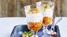 Lakkaherkku/Cloudberry dessert