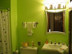 Lime+Green+Bathroom+Decor | lime green bathroom repost, added some new pics of bathroom... still ...