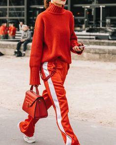 Fashion Week Paris Street Style Inspiration 50 Ideas For 2019 Sport Chic, Sport Style, Sporty Chic Style, Glam Style, Sporty Outfits, Mode Outfits, Chic Outfits, Fashion Outfits, Green Outfits