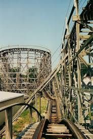 Libertyland - Memphis Tn. took my daughter and church group here and rode on this wooden roller coaster, so sad it is no longer open!