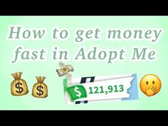 6 Tips On How To Earn Money Fast In Adopt Me 2019 Youtube In 2020 How To Get Money Fast Ways To Get Money How To Get Money