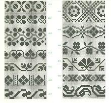 Latvian Mittens (charts) - Monika Romanoff - Picasa-Webalben