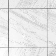 Volakas Plus Polished Porcelain Tile - 24 x 24 - 100242072 Marble Look Tile, Stone Look Tile, Terrazzo Tile, Tile Floor, Marble Floor, Tv Wall Design, Tile Design, Master Bath Tile, Polished Porcelain Tiles