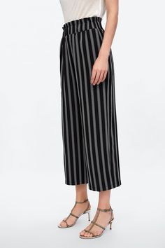 b7782f48cc01 Image 2 of STRIPED PANTS from Zara Striped Pants