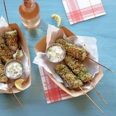 Fish on a Stick | CookingLight.com #myplate #protein #fruit #dairy