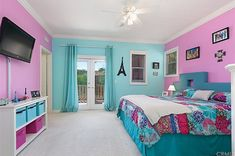 The property 6 Water Lily Way, Coto De Caza, CA 92679 is currently not for sale on Zillow. Girls Room Paint, Pink Bedroom For Girls, Girl Bedroom Walls, Bedroom Wall Colors, Girl Bedroom Designs, Room Ideas Bedroom, Little Girl Rooms, Home Bedroom, Bedroom Decor