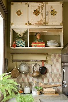 thevintaquarian:  Bohemian Homes  Kitchen