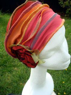 womens headband hat headcover headwear by GypsyLoveHeadbands, $45.00